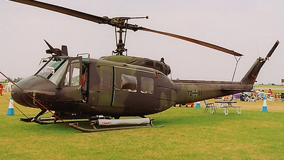 72-61 - Bell UH-1D Iroquois - Germany - Air Force