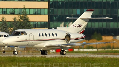A picture of CSDNK - Hawker 800XP - [258430] - © rollyspotter