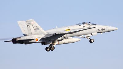 C.15-64 - McDonnell Douglas EF-18A+ Hornet - Spain - Air Force