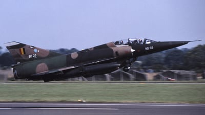 BD03 - AMD Mirage 5BD - Belgium - Air Force