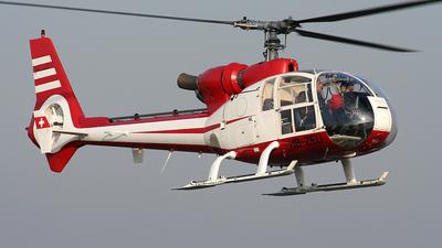 A picture of HBZEU - Aerospatiale SA 341G Gazelle - [1111] - © Jan Plümer