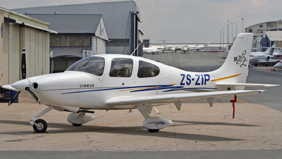ZS-ZIP - Cirrus SR20 - Private