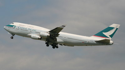 B-HOR - Boeing 747-467 - Cathay Pacific Airways
