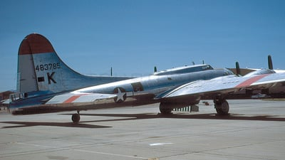 N207EV - Boeing B-17G Flying Fortress - Private