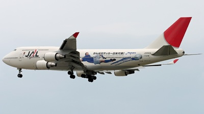 JA8909 - Boeing 747-446 - Japan Airlines (JAL)