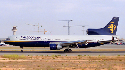G-BBAJ - Lockheed L-1011-100 Tristar - Caledonian Airways