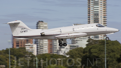 LV-WXY - Gates Learjet 25D - Private