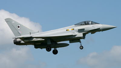 ZJ919 - Eurofighter Typhoon F.2 - United Kingdom - Royal Air Force (RAF)