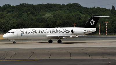 D-AFKA - Fokker 100 - Contact Air