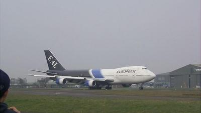 G-BDXH - Boeing 747-236B - European Aviation (EAL)