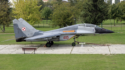 4115 - Mikoyan-Gurevich MiG-29GT Fulcrum - Poland - Air Force