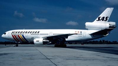 LN-ALN - McDonnell Douglas DC-10-30 - Scandinavian Airlines (SAS)