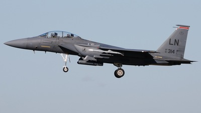 91-0314 - Boeing F-15E Strike Eagle - United States - US Air Force (USAF)