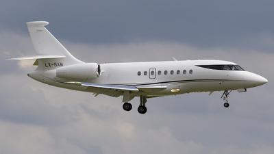 LX-SAM - Dassault Falcon 2000 - Global Jet Luxembourg