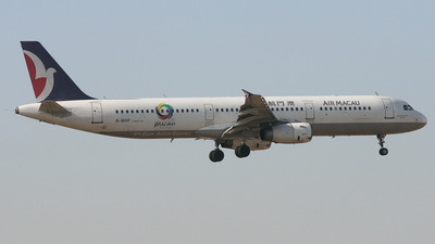 B-MAP - Airbus A321-231 - Air Macau