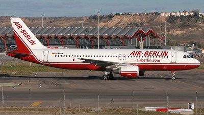 D-ABDM - Airbus A320-214 - Air Berlin