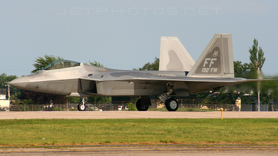 04-4082 - Lockheed Martin F-22A Raptor - United States - US Air Force (USAF)