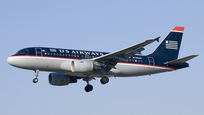 N725UW - Airbus A319-112 - US Airways