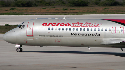 YV286T - McDonnell Douglas DC-9-32 - Aserca Airlines
