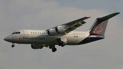 OO-DWD - British Aerospace Avro RJ100 - Brussels Airlines