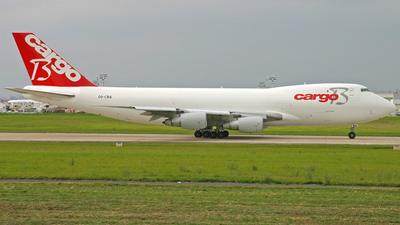 OO-CBA - Boeing 747-228F(SCD) - Cargo B Airlines