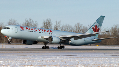 C-FCAB - Boeing 767-375(ER) - Air Canada