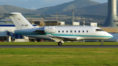YR-DIP - Bombardier CL-600-2B16 Challenger 604 - Eurojet