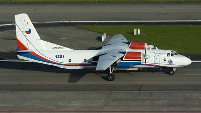 4201 - Antonov An-26 - Czech Republic - Air Force