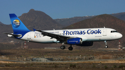 OO-TCN - Airbus A320-232 - Thomas Cook Airlines Belgium
