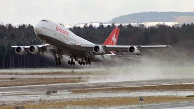 HB-IGE - Boeing 747-357 - Swissair