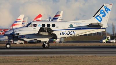 OK-DSH - Beechcraft C90 King Air - Delta System-Air