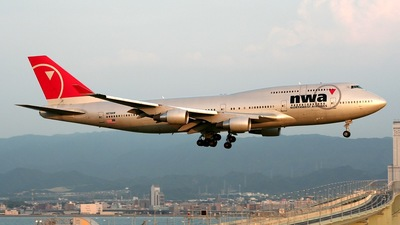 N676NW - Boeing 747-451 - Northwest Airlines