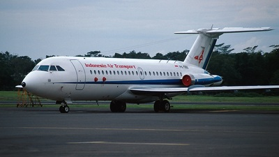 PK-TRU - British Aircraft Corporation BAC 1-11 Series 492GM - Indonesia Air Transport (IAT)