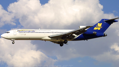 ZS-ODO - Boeing 727-231(Adv) - Nationwide Airlines