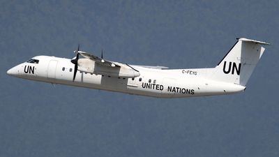 C-FEYG - Bombardier Dash 8-314 - United Nations (Voyageur Airways)