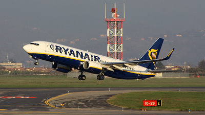 EI-DLZ - Boeing 737-8AS - Ryanair