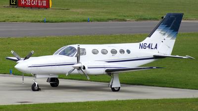 A picture of N64LA - Beech 58 Baron - [TH978] - © Danny Jones