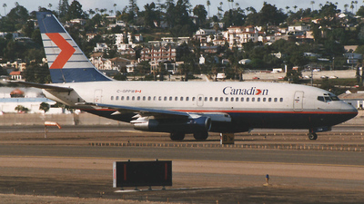 C-GPPW - Boeing 737-275(Adv) - Canadian Airlines International
