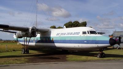 ZK-BXG - Fokker F27-100 Friendship - Air New Zealand