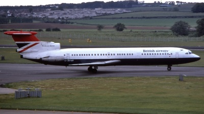 G-AYVF - Hawker Siddeley HS-121 Trident 3 - British Airways