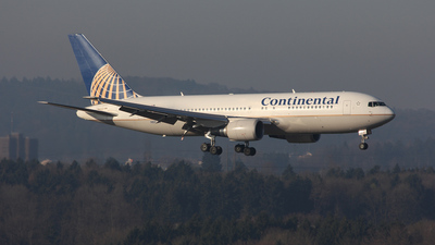N68155 - Boeing 767-224(ER) - Continental Airlines