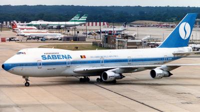 OO-SGB - Boeing 747-129(M) - Sabena