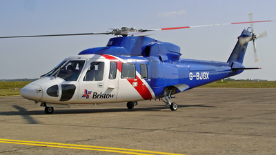 A picture of GBJGX - Sikorsky S76A - Bristow Helicopters - © Pierre Guilpain