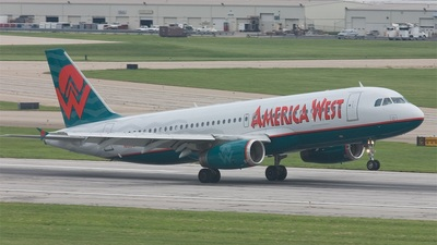 N632AW - Airbus A320-231 - America West Airlines