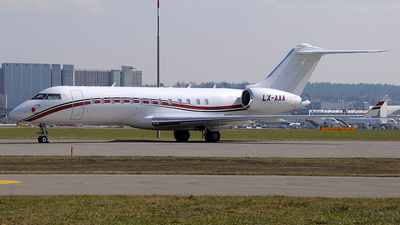 LX-AAA - Bombardier BD-700-1A10 Global Express - Global Jet Luxembourg