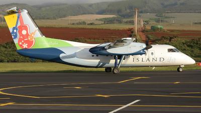 N809WP - Bombardier Dash 8-103 - Island Air