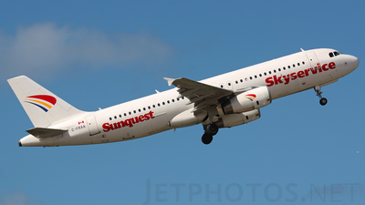 C-FRAA - Airbus A320-232 - Skyservice Airlines