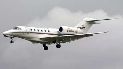 N750PT - Cessna 750 Citation X - Private
