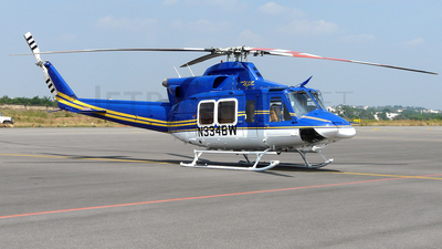 N334BW - Bell 412EP - Private