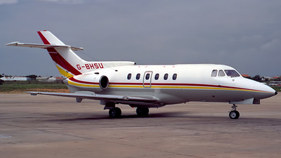 G-BHSU - Hawker Siddeley HS-125-700B - Shell Aviation